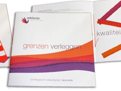 Adelante strategisch beleidsplan 2012–2016