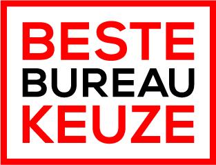 beste Bureaukeuze button