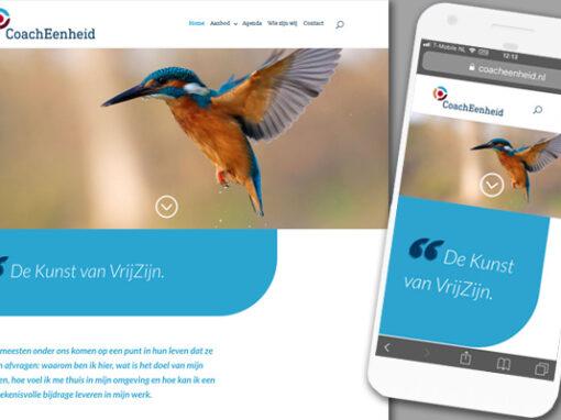 CoachEenheid logo en website