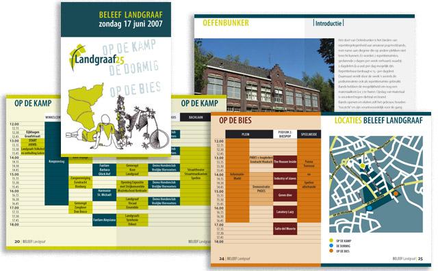 Landgraaf25 programmaboekje Beleef Landgraaf