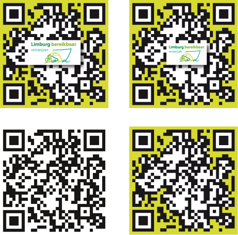 Provincie Limburg bereikbaar QR-codes