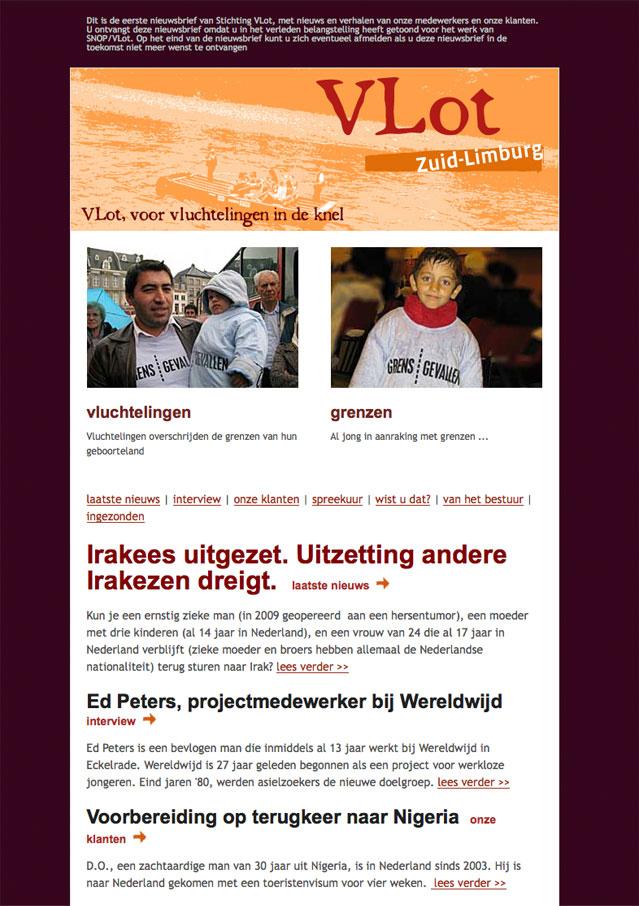 Stichting VLot digitale nieuwsbrief