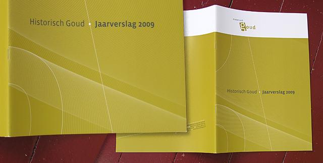 Historisch Goud jaarverslag 2009-cover