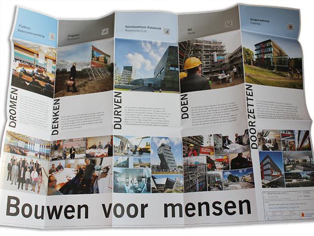 Bouwbedrijven Jongen bouwtekening nr1 thema Samenwerking