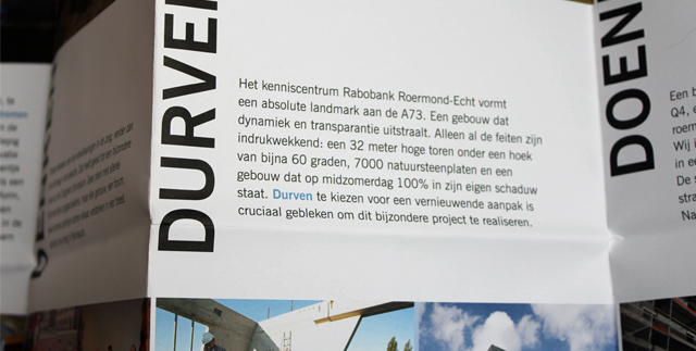 Bouwbedrijven Jongen bouwtekening tekst detail