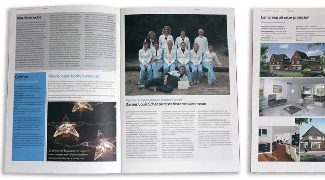 Bouwbedrijven Jongen-Jongens Nieuws personeelsblad